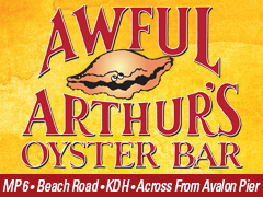 Awful Arthur's Oyster Bar & Beach Shop, Kitty Hawk